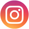 Instagram round social media icon free
